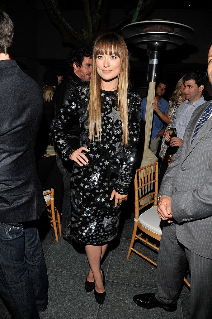 Olivia Wilde at The Change-Up's afterparty.