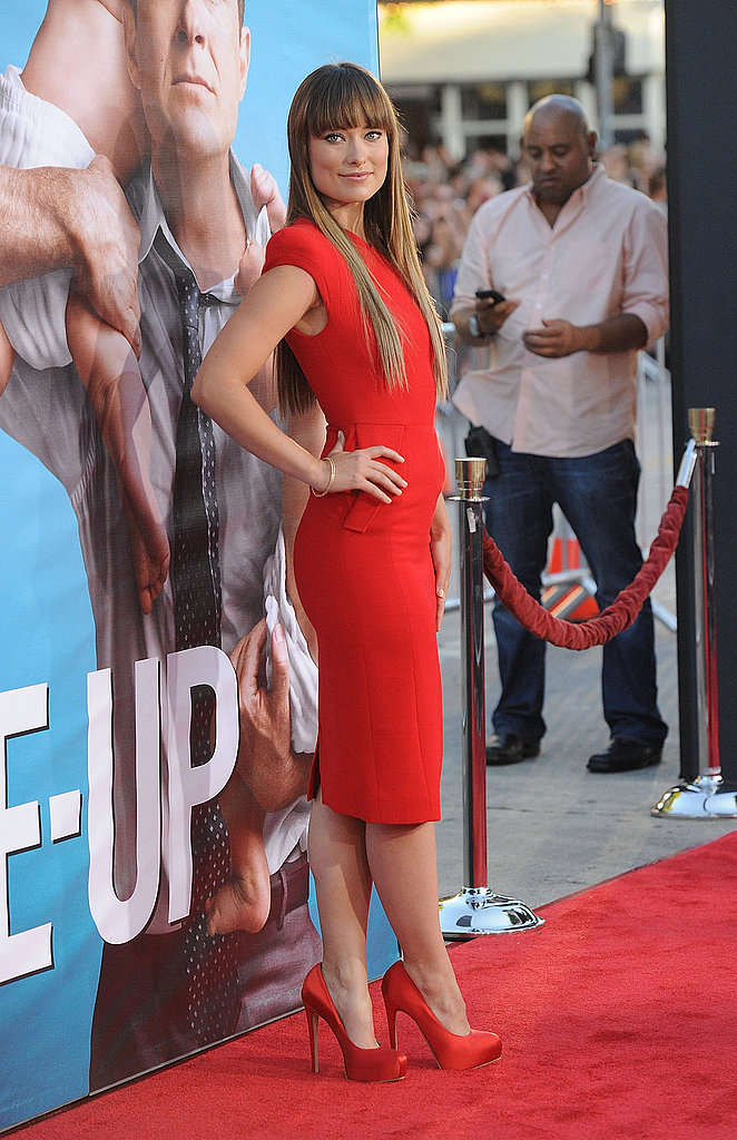 Olivia Wilde on the red carpet.