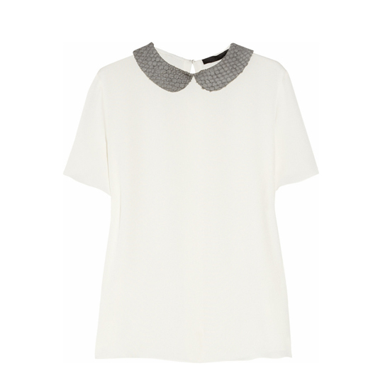 The Row Pell Blouse, $1,300