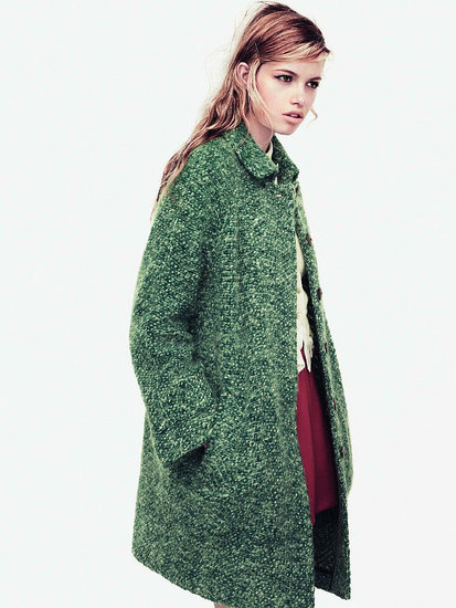 Stella Tennant, Hailey Clauson Mug for Zara's Fall 2011 Campaign