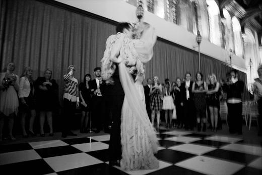 Katie Shillingford and Alex Dromgoole's first dance