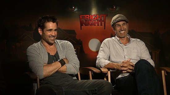 Colin Farrell Talks Playing a Psycho Vampire With His Fright Night Director Craig Gillespie