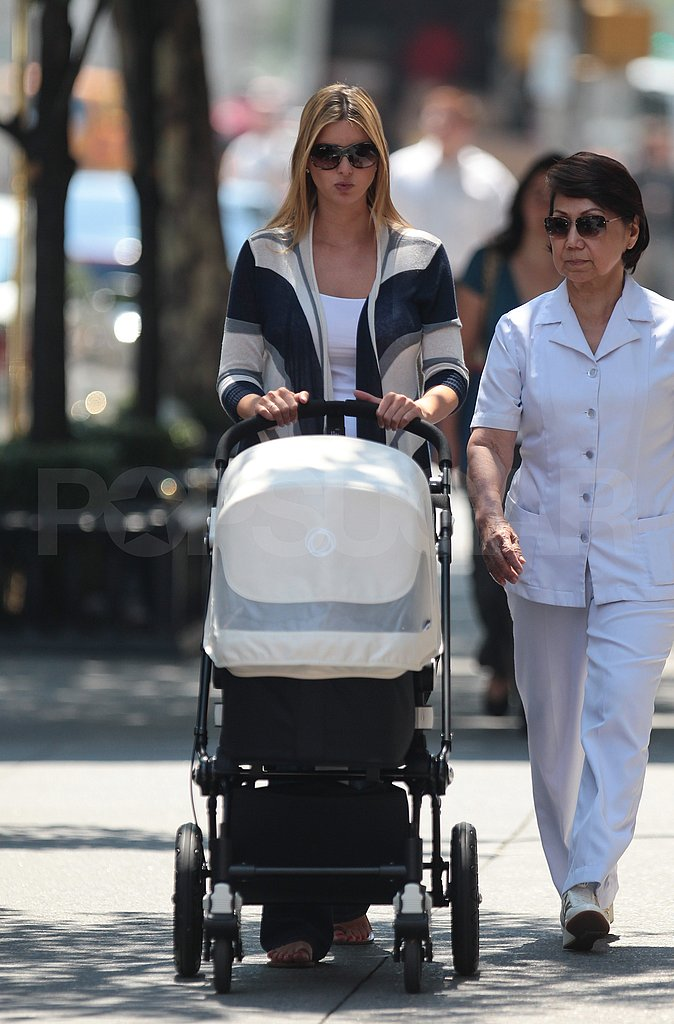 Ivanka Trump and Arabella Kushner walk in NYC.