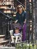 Sarah Jessica Parker Strolls in the City With Tabitha and Loretta as Matthew Recovers at Home