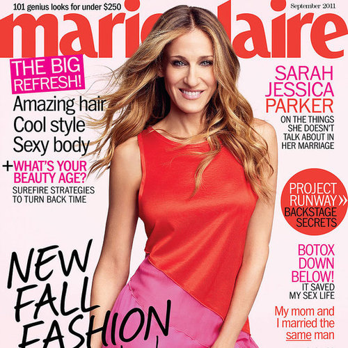Sarah Jessica Parker in September 2011 Marie Claire Pictures