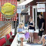 Reese Witherspoon at Sweet Rose Creamery in Santa Monica