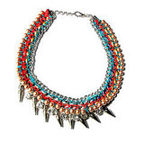 Assad Mounser Nomad Collar in Red, $538