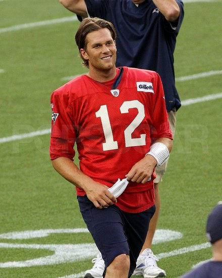 It was Tom Brady's 34th birthday.