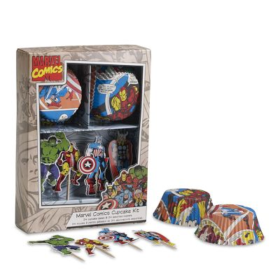 Marvel Cupcake Decorating Kit ($12)