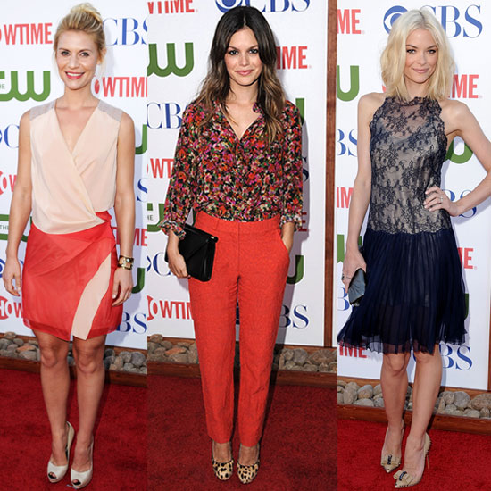 Which Attendee Looks Most Fab at the CW, CBS, and Showtime Summer TCA Party?