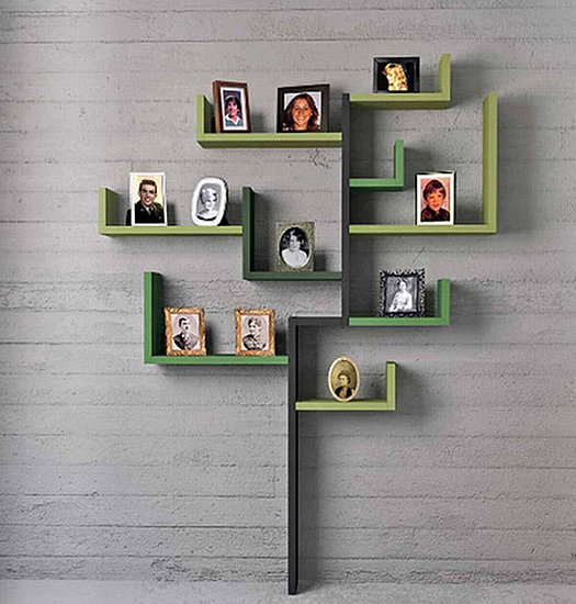 Family Tree Shelves