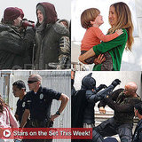 Brad Pitt, Christian Bale, Sarah Jessica Parker, and More Stars on Set This Week!