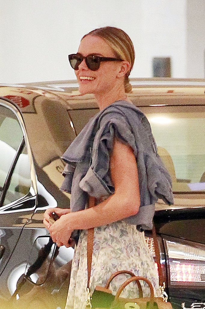 Kate Bosworth sported shades.