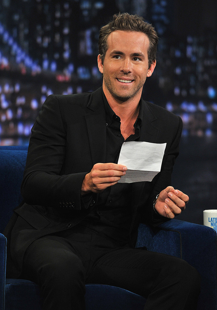 Ryan Reynolds sat down with Jimmy Fallon.