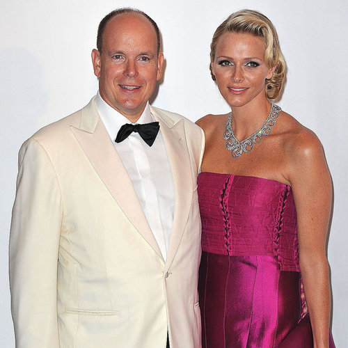 Prince Albert and Princess Charlene at Red Cross Ball Pictures