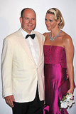 Albert and Charlene attend the Red Cross Gala Ball.