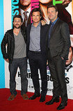 Charlie Day, Jason Bateman and Jason Sudeikis