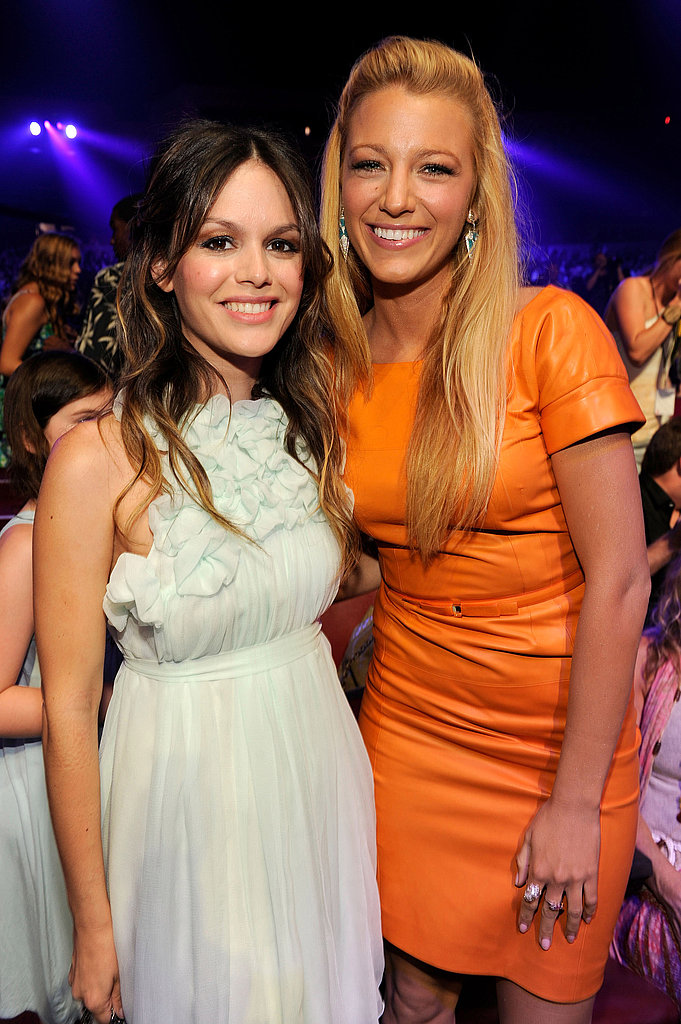 Blake Lively and Rachel Bilson at the 2011 Teen Choice Awards.