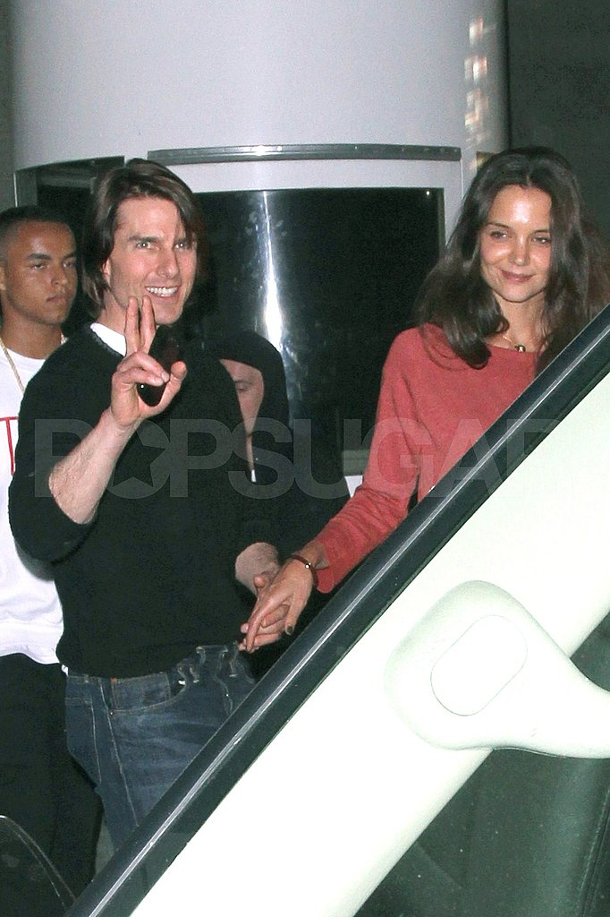 Tom Cruise and Katie Holmes out in LA.