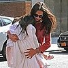 Katie Holmes Pictures in Yesterday's Clothes With Suri Cruise