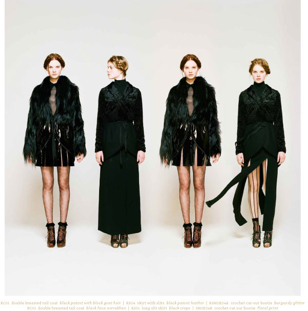 Sneak Peek — Rodarte For Opening Ceremony Fall Lookbook