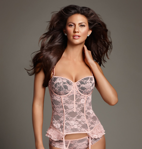 Kardashian Kollection Women's Floral Mesh Corset ($38, originally $55)