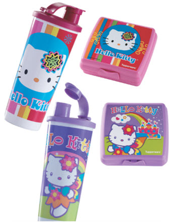 Hello Kitty Retro Sandwich Keeper and Tumbler Set ($24)