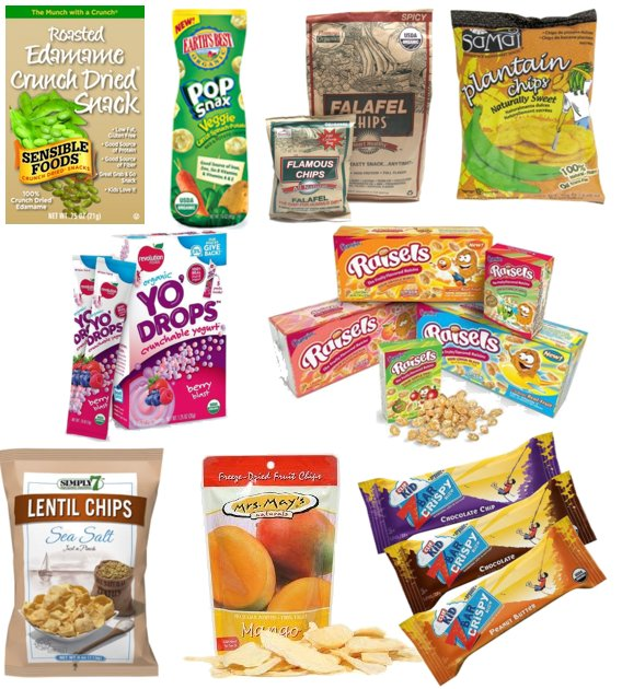 examples of healthy snacks for school