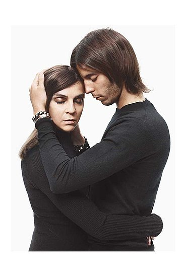 Carine Roitfeld Models with Her Family in the New Barneys Campaign