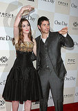 Anne Hathaway and Jim Sturgess together in NYC.