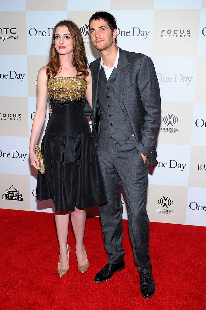 Anne Hathaway and Jim Sturgess premiere One Day.