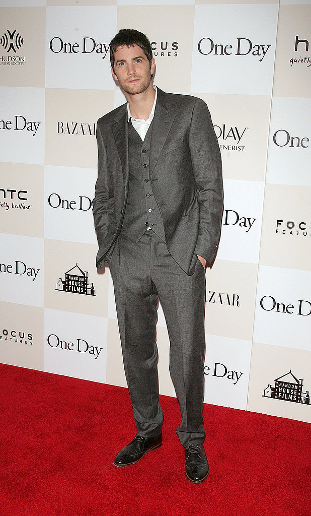Jim Sturgess looks dapper.