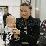 Miranda Kerr and Flynn Bloom travel in Australia.