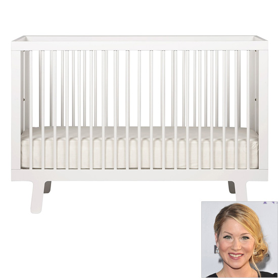 Christina Applegate: Oeuf Sparrow Crib ($730)