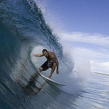 This surfer (who happens to be an old friend of mine!) knows how to rock a wave!