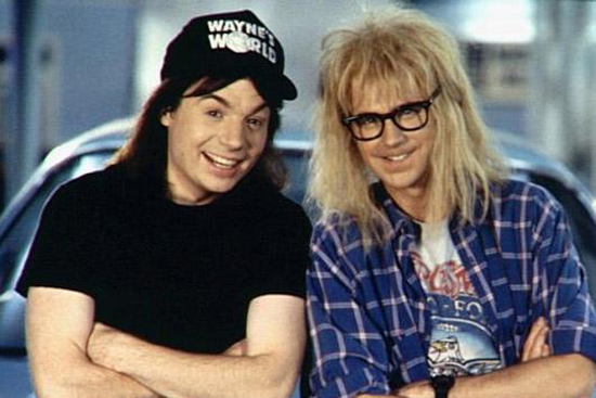 Wayne and Garth, Wayne's World