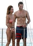 David Charvet and Brooke Burke on vacation.