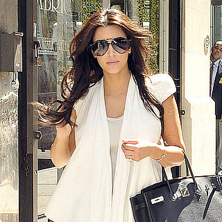 Kim Kardashian at Wedding Dress Fitting in NYC Pictures