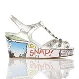 Beano Cartoon Wedge in Silver ($201)