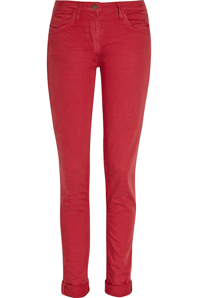 Red Denim — Cropped
