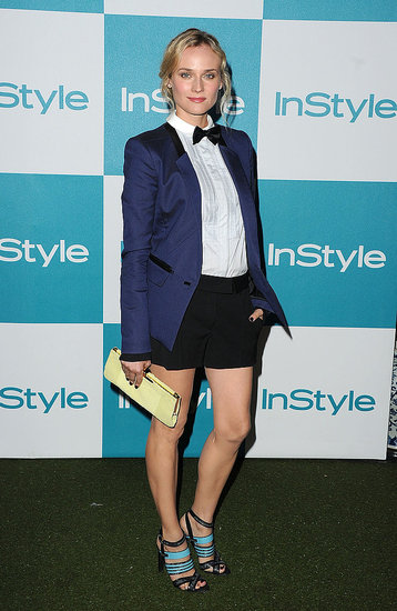 Diane Kruger Stays Short but Fancy For InStyle's Summer Soirée