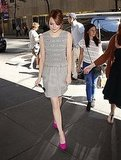 Emma Stone in NYC.