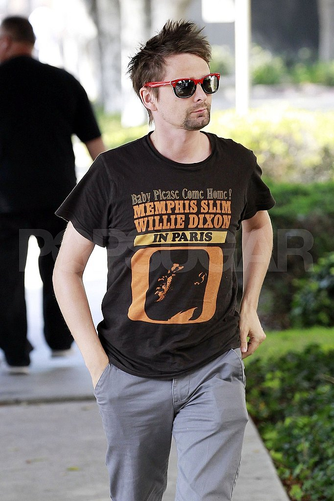Matt Bellamy, Kate Hudson's fiancé, out in LA.