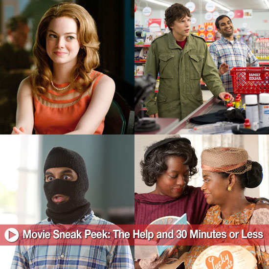 Movie Sneak Peek: The Help and 30 Minutes or Less!