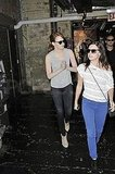 Emma Stone strolled through NYC with a friend.