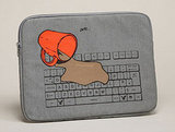 Computer meltdown laptop sleeve ($20)