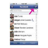 Facebook App — Friends