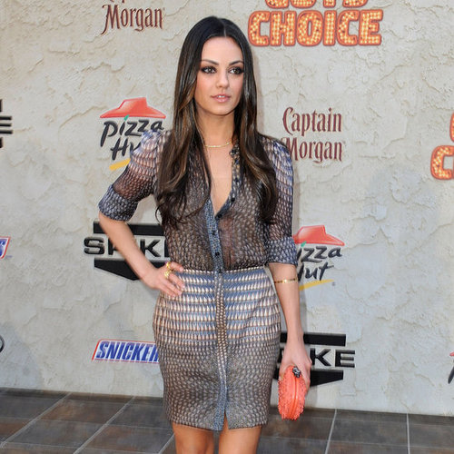 Mila Kunis Says Losing Weight Is About Willpower
