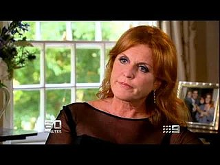 Video Preview of Weird Sarah Ferguson Interview With 60 Minutes Reporter Michael Usher