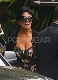 Kris Jenner after Kim's wedding.